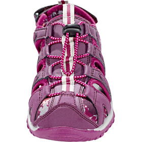 Hi-Tec Cove Shoes Junior boxed grapewine/amaranth/boysenberry